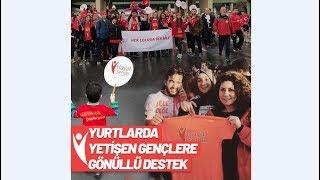 Gambar cover Yurtlarda yetişen gençlerin gönüllü destekçileri