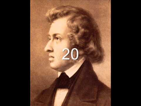 Chopin Etude in G sharp minor Op. 25 No. 6 - 30 Great Pianists in Comparison