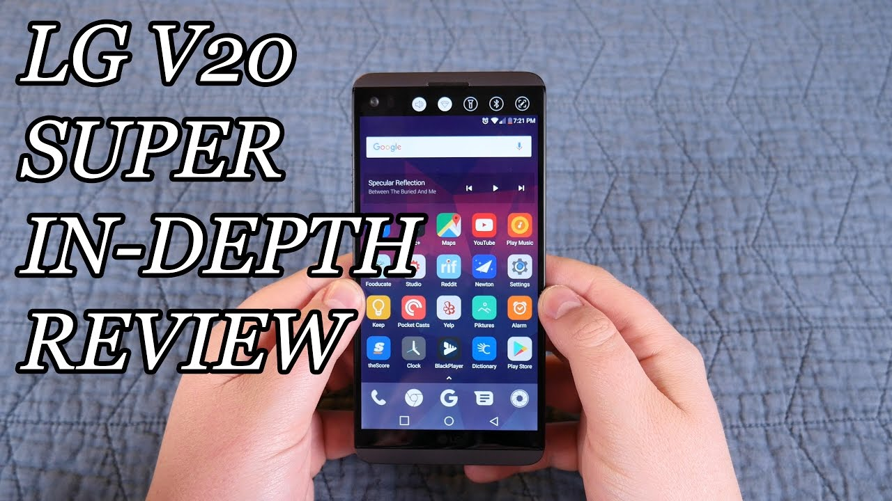 LG V20 Super In-Depth Review: An awesome phone...but not for everybody.