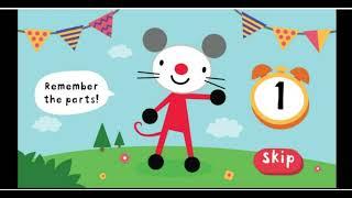 Arty Mouse. Built me. Детские мультики, детские игры, собирание пазлов, дострой животное, развивашки