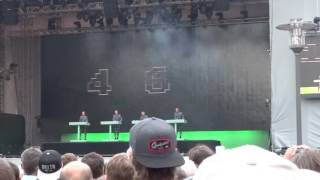 Dont own the rights on the song - Copyright Kraftwerk - Kling Klang.