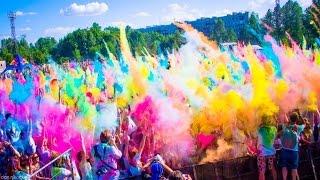 Фестиваль красок Холи (Москва) - 13.09.2015