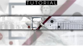 Stone Statue Youtube Banner Tutorial | Photoshop CC