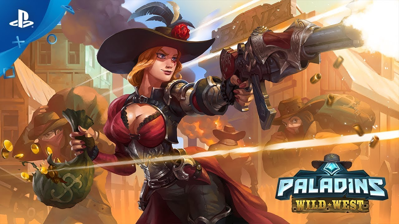 Paladins | Wild West Battle Pass | PS4