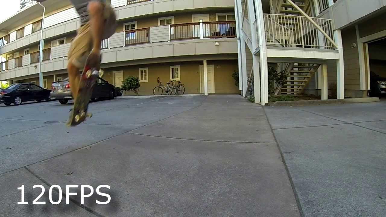 GoPro Hero 3 60 vs 120 Frames Per Second Slow Motion Test - YouTube