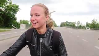 видео На работу на велосипеде