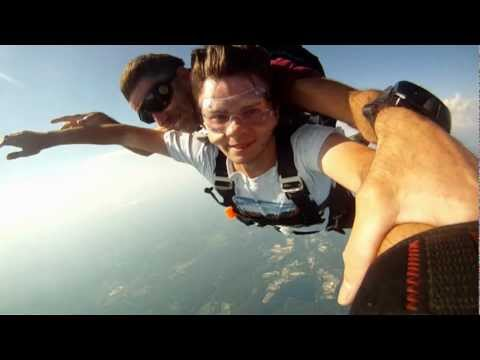 My 12,000ft Skydive Music Video 8-4-2012