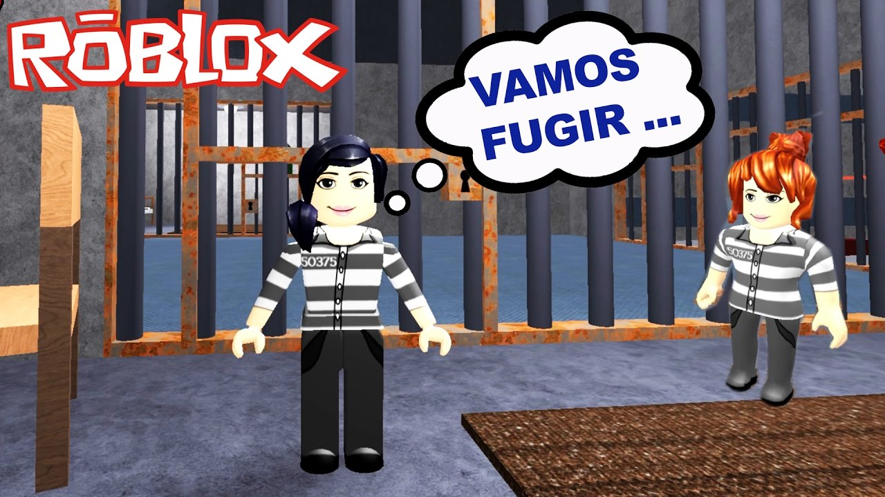 Roblox - ESCAPE DA PRISÃO (Escape Jail Obby) | Luluca Games