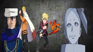 Боруто Саске Наруто против Кеншики