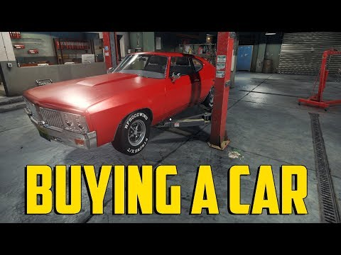 Car Mechanic Simulator 2018 - Buying A Car