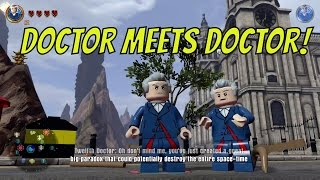 LEGO Dimensions - Doctor meets Doctor on Dr. Who World!