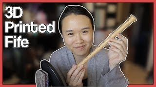 Professional flutist reviews 3D printed fife