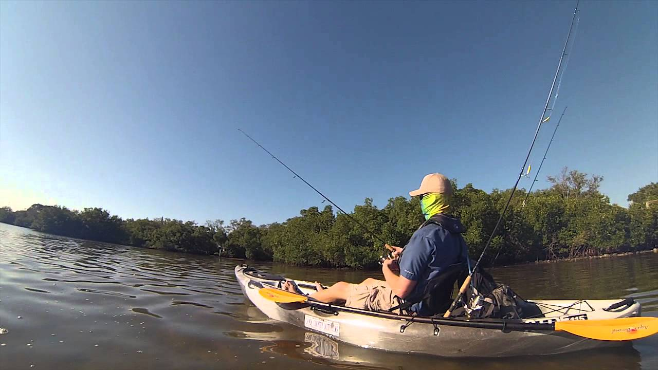 Outfitting kayaks and canoes for fishing canoe country for Tampa bay fishing outfitters