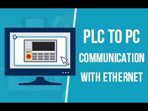 PLC to PC Communication with Ethernet | Profinet Protocol | PLC - SCADA  PART 3