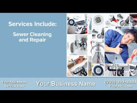 plumber commercial video for local business