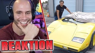 Flying Uwe REAGIERT auf einen 300$ FAKE LAMBORGHINI😂 Flying Uwe Reaktion