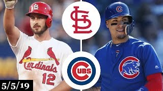 St. Louis Cardinals vs Chicago Cubs Highlights | May 5, 2019