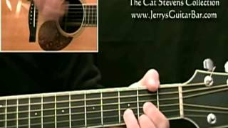 How To Play Cat Stevens Wild World (introduction)