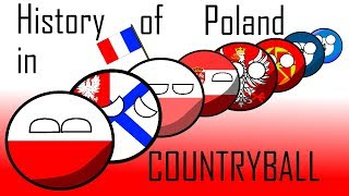 History of Poland in countryballs