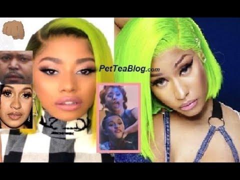 "Cardi B Sister Response to Nicki Minaj Dragging, Brings Brother into it ""I Don't Talk, I FiGHTS!"" 👊"