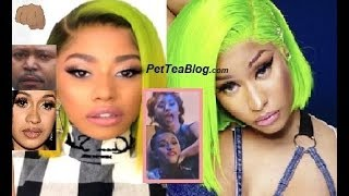 "Cardi B Sister Response to Nicki Minaj Dragging, Brings Brother into it ""I Don't Talk, I F"
