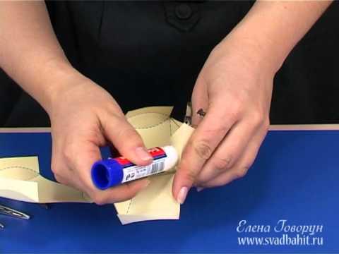 Как сделать бонбоньерку (схема