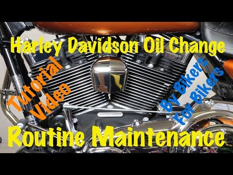 Harley Davidson Oil Change & Routine Maintenance | Complete Guide & Instructions