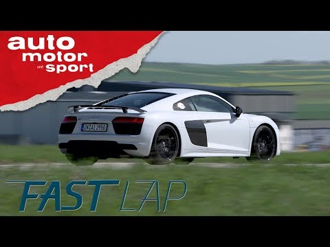 Audi R8 V10 Plus: 4 Ringe für ein Halleluja - Fast Lap | auto motor und sport