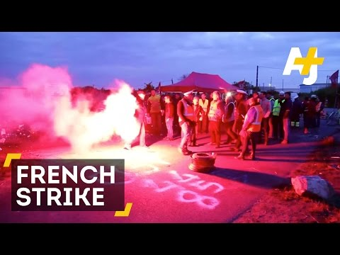 French Government vs. Unions