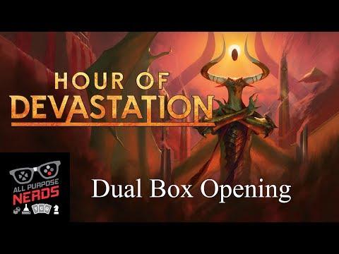 All Purpose Nerds Hour of Devastation Dual Box Opening