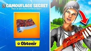 """PLEASE this NEW """"SECRET CAMOUFLAGE"""" FREE on YOUR COMPTE on FORTNITE! 😱 (EXCLUSIVE)"""