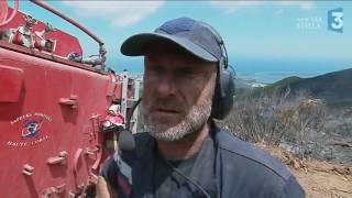 Vigilance incendie : la mobilisation des pompiers continue en Haute-Corse