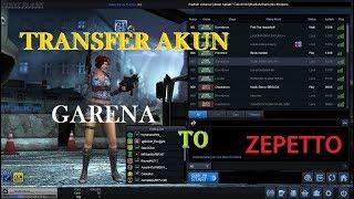 Cara Transfer Akun Point Blank Garena Ke Zepetto Youtube