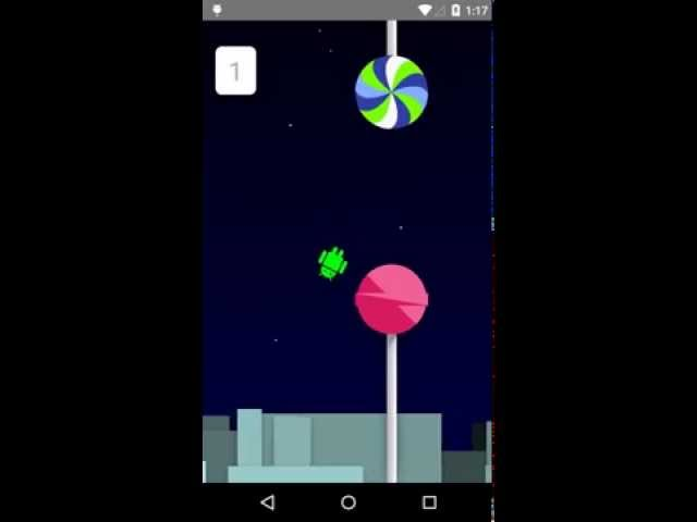 Ready to play your favorite Flappy Droid game in Nougat?