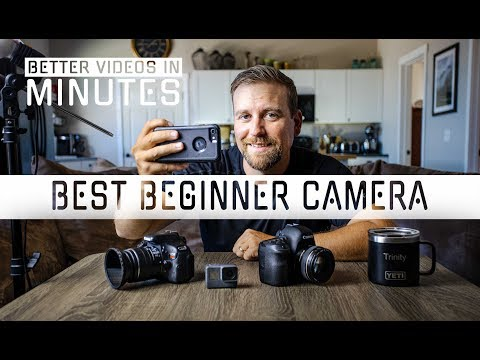 Best Beginner Camera for Filmmaking ( YOUR PASSION STARTS HERE! )
