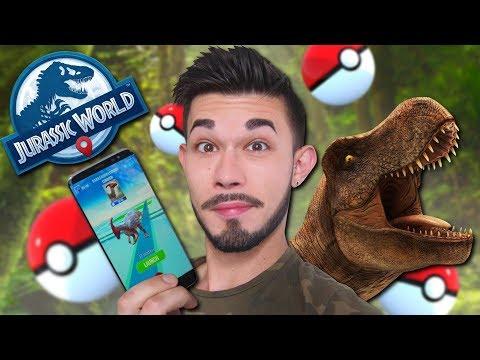 JURASSIC WORLD VERSION POKÉMON GO ! (BON OU MAUVAIS ?) thumbnail