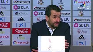 Rueda de prensa de Diego Martínez tras el Osasuna vs Nàstic 0 2