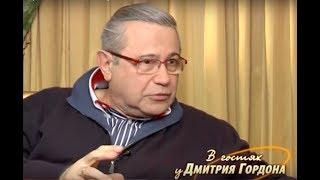 Смотреть Петросян рассказал Гордону анекдот о Медведеве онлайн
