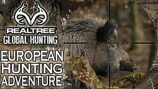 European Hunting Adventure: Driven Wild Boar Hunt