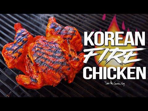 Spicy Korean Fire Chicken – the Best Whole Chicken Recipe EVER! | SAM THE COOKING GUY 4K