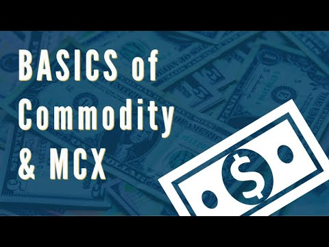 Basics of MCX Commodity Market in India (in Hindi)
