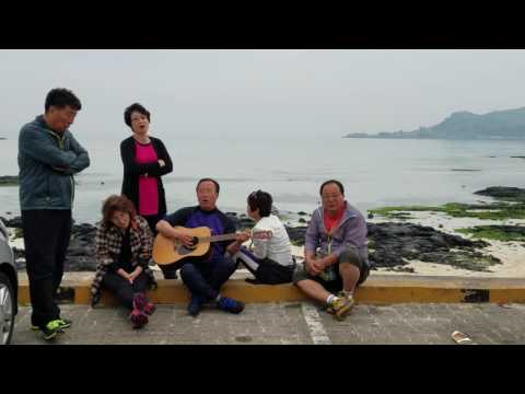 Saturday Evening Surprise Jam, Hyeopjae Beach, Jeju, South Korea