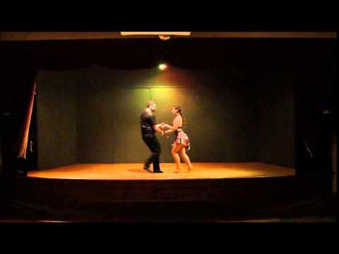 9th Annual Amateur Salsa Competition Couple # 4
