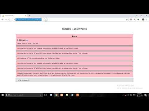 100% Solution PhpMyAdmin Access Denied Error In Xamp My SQL Error In Hindi