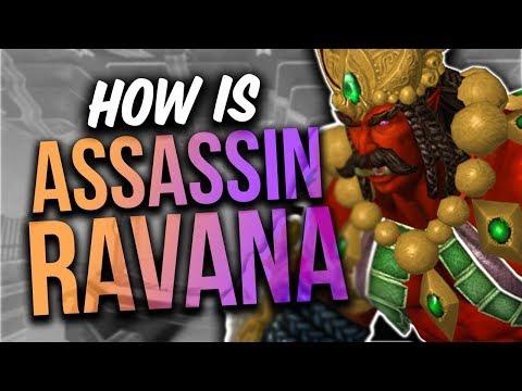 SMITE Ravana Changes - How Is ASSASSIN Ravana?