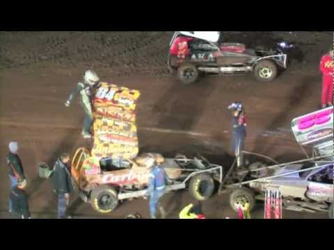 2012 BriSCA BelleVue Shootout Finale, Sunday Nov.11