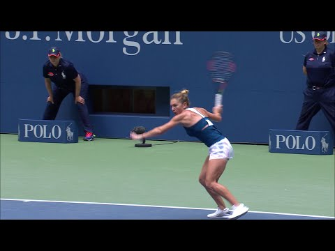 US Open Throwback: Simona Halep