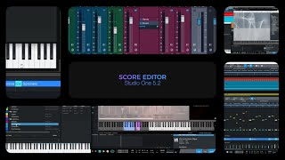 Studio One 5.2: Score Editor