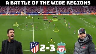 Tactical Analysis: Atletico Madrid 2-3 Liverpool | Klopp & Simeone Battle Again
