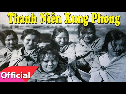 [Karaoke MV HD] Thanh Niên Xung Phong - Sáng tác: Phan Huỳnh Điểu